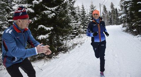 Ann Karin Johannesen og Helge Larsen
