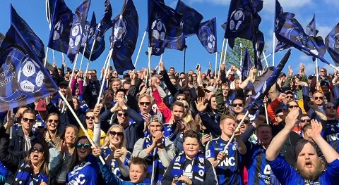 IKKJE APRIL: Stimen får ikkje sjå laget sitt spele fotball i april. Seriestarten er utsett til starten på mai.