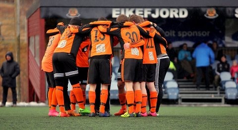 I FØRARSETET: Eikefjord har tatt styringa i 6 divisjon. Det kan ende med ein rein opprykksfinale mot Tempo i oktober.