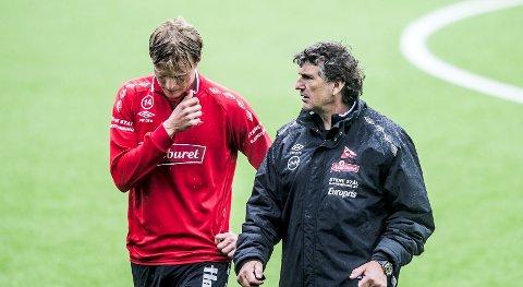 Slitt med spilletid: Andreas Aalbu har fått svært begrenset med spilletid i FFK denne sesongen. (FOTO: Geir A. Carlsson)