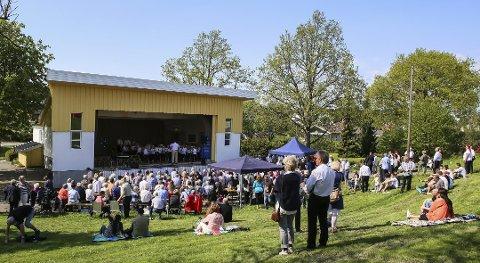 Fjorårets vårkonsert i Paviljongen på Gressvik
