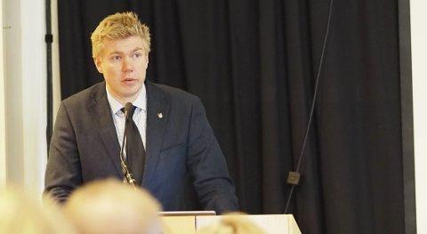 AVVISER PLAN: Narvik SV har besluttet å si nei til forslaget om butikk og omsorgsboliger på Taraldsvikjordet, opplyser Vegard Johan Jæger.