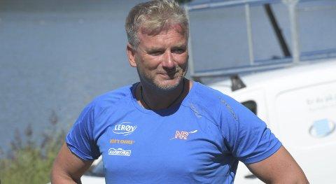 LANDSLAGSTRENER: Johan Flodin er ikke veldig bekymret over roernes resultater, men desto mer opptatt av en krevende oppkjøring til OL.