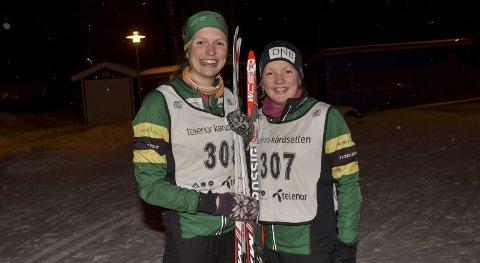 GØY: Tvillingene synes fortsatt ski og orientering er morsomt, og begge har løpt for de store orienteringsstafettene Tiomila i Sverige og Jukola i Finland for NTNUI.