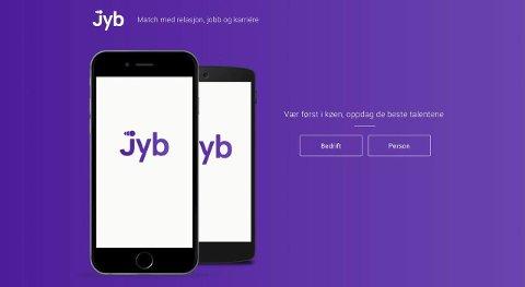 Snart lansering: Gründerne håper på 10.000 registrerte brukere før Jyb kommer neste år.