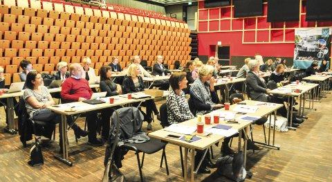 INTERRESSE: Drøyt 40 arrangører, næringsdrivende, reklamefolk og turistarbeidere deltok under Mesterklassen i Brygga kultursal.