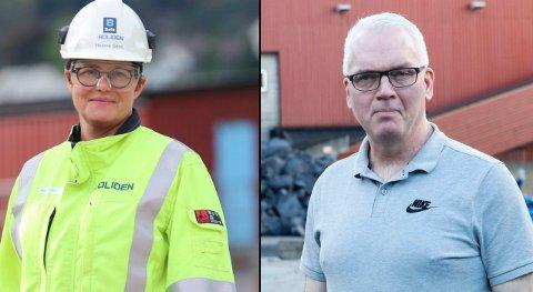 Helene Seim og Per Øyvind Sævartveit leier dei to største bedriftene i Odda. Men kor mykje hadde dei i inntekt? det får du svar på her.