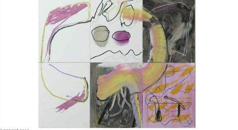 HYPNOCRAT:  Olje og akryl. Måleri: Eirik Forberg