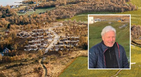 FØRSTE OMGANG: – I første omgang er det snakk om å bygge åtte tomannsboliger, seks eneboliger og seks til åtte rekkehus, forteller Geir Skoglund