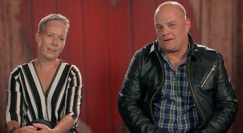 MØTTES PÅ TV: Anne Renate Bernsten og Jørn Ingar Hafsten angrer virkelig ikke at de ble med på TVNorge-konseptet.