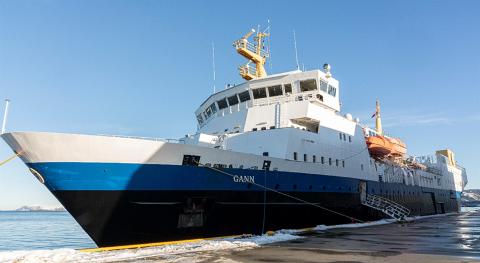 SKOLESKIP: Kongsberg Maritime skal oppgradere Skoleskipet Gann med en stor utstyrspakke.