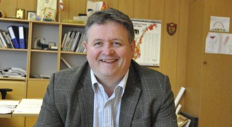 Vertskap: Ordfører Eivind Holst blir vertskap når MS «Spitsbergen» skal døpes i Svolvær 6. juli. Foto: Gullik Maas Pedersen
