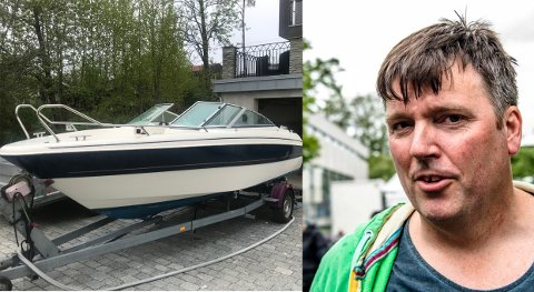 Denne Yamarinen har blitt stjålet to ganger fra Harald Schytz i sommer.