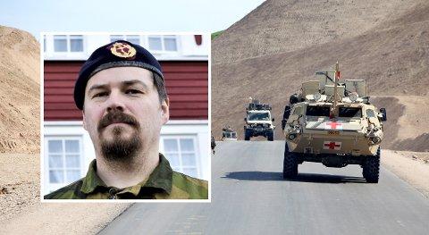 KRITISK: Fredrik Utnes er med i den nye podcasten fra Forsvaret som heter «Historien om: Afghanistan» der han forteller om den kritiske og kaotiske februardagen i 2006.