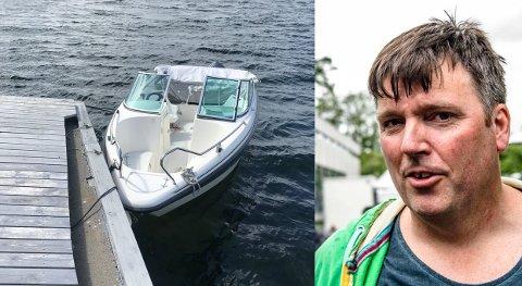 Yamarinen til Harald Schytz og familien ble funnet rekende på Oslofjorden etter å ha blitt stjålet i forrige uke.