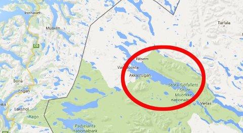 jokkmokk kart iFinnmark   Postfly fra Oslo til Tromsø har styrtet jokkmokk kart