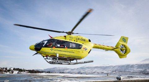 RESERVE: UNN hadde kun ett reservehelikopter i tjeneste tidligere denne uka.