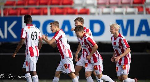 KLART FOR MINI-SLAGET: TIL 2 tar i mot Bodø/Glimt 2 i en kamp som er viktig for divisjonsstatusen i 3.-divijson for begge klubbers andrelag.