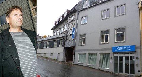 OPPKJØP:  Johnny Viggo Bårdsen fra Finnsnes har kjøpt Skansen Hotell