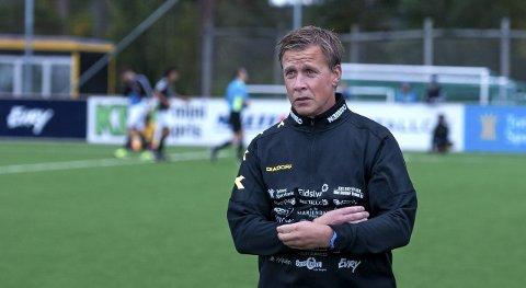 TESTER: Espen Haug skal teste flere spillere med tanke på å styrke stallen foran kommende sesong i 1. divisjon. Arkivbilde