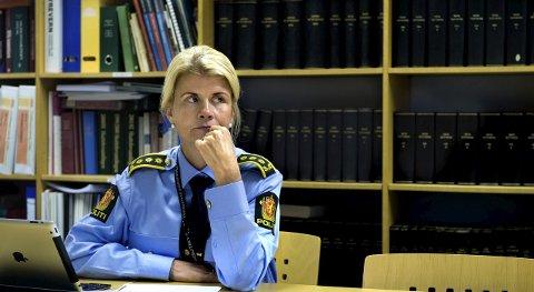 Visepolitimester Linn Hilde Fosso. Arkivbilde