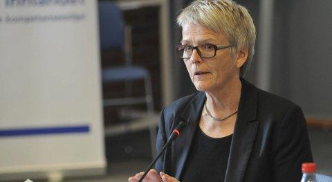 2016: - Nå skal vi tenke litt fort, sa Anne Enger da hun trådte inn som styreleder for Sykehuset Innlandet 2016.