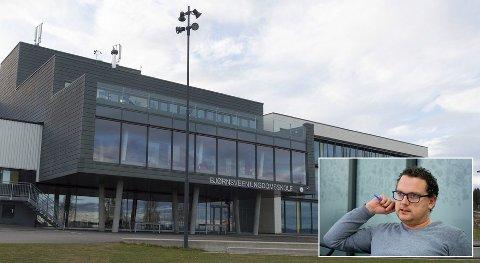 PERMISJON: Ved Bjørnsveen ungdomsskole i Gjøvik får elevene permisjon for å klimastreike.