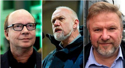 TAKKET JA: Ketil Kjenseth (fra venstre), Morten Ørsahl Johansen og Bengt Fasteraune takket ja til tilbudet om vaksine.
