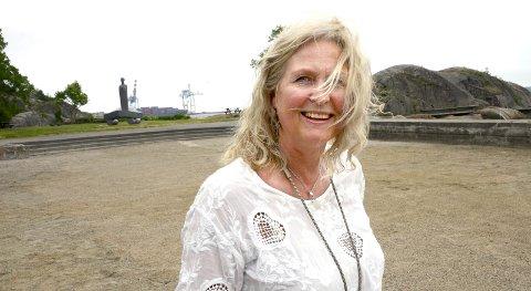 Lover god mat: Kristin Onshus har ansvaret for matteltene under folkefesten lørdag.