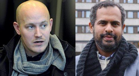 OPPRØRT: Først så Chris Klemmetvold at vennen Ahmed Kahlid Haji (t.h.) ble sendt ut av landet. Nylig ble sistnevntes far også deportert. Faren døde få dager etter ankomsten til Djibouti. Klemmetvold er opprørt over norske myndigheters behandling av saken.