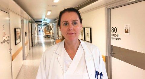 LITEN FARE FOR ALVORLIG SYKDOM: – Risikoen for å bli smittet og alvorlig syk er svært liten, sier infeksjonsoverlege ved Sykehuset Telemark, Hilde Skudal.