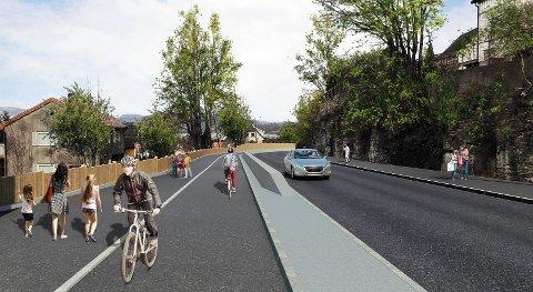 KLART: Herøyavegen får et enormt trafikksikkerhetsløft.