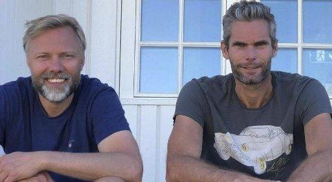 Ny Eier: Thomas Alsgaard kjøper seg inn i LurØ. F.v. på bildet: Wiggo Dalmo og Thomas Alsgaard.