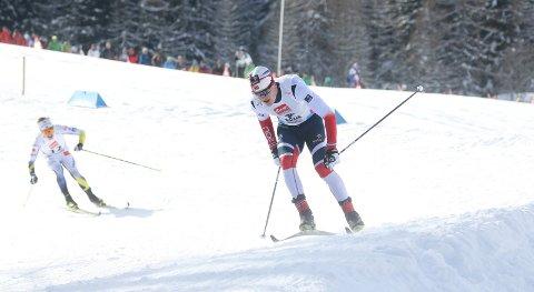 FÅR SJANSEN: Eirik Sverdrup Augdal går verdenscuprennet på Beitostølen lørdag.