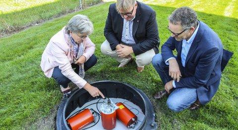 Norsars «Ører»: Slike brønner registrerer jordskjelv og atomsprengninger. På Østlandet ligger de fleste «ørene» på Løten.