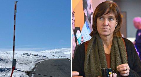 """INNVENDINGER: Fylkesmannen i Oslo og Viken har """"vesentlige innvendinger"""" mot å åpne for brøyting av Imingfjellvegen i vinterferieukene og i helgene etterpå. Viken-politiker Eli Hovd Prestegården (Sp) er ikke overrasket."""