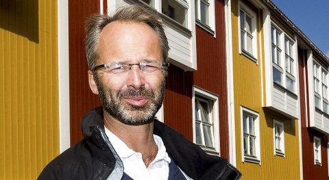 SOSIAL PROFIL: - Økningen av bunnfradraget gir den økede eiendomsskatten en sosial profil, mener gruppeleder Jørgen Vik. Foto: Lisbeth Andresen