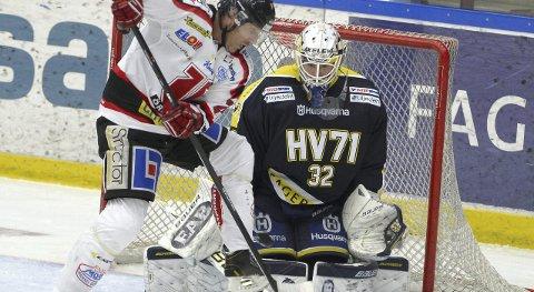 TROLIG LIK-KLAR: 41 år gamle Conny Strömberg blir trolig Lørenskog-spiller i løpet av kort tid. FOTO: TT