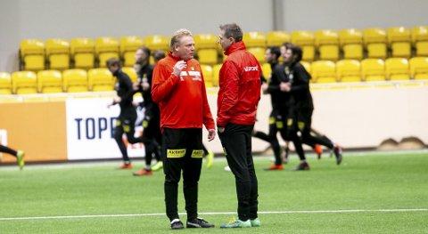 Til hjemlandet: Jörgen Lennartsson regner med at lørdagens rb.no-sendte treningskamp mot Djurgården blir godt besøkt. Foto: Lisbeth Lund Andresen