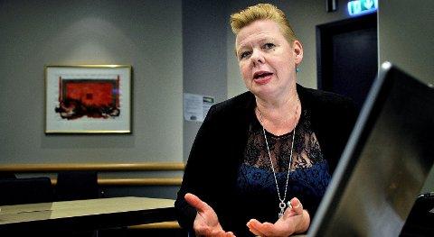 KJEMPER FOR SARPSBORG: Siv Jacobsen fra Arbeiderpartiet  mener det er viktig å bolde Sarpsborg som administrasjonssted slik det er i dag - også om Viken blir en realitet.