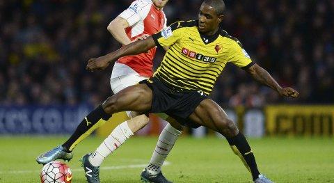 Den tidligere Lyn-spilleren Odion Ighaloer toppscorer hos Watford med sine fem mål.