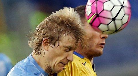 Vår oddstipper tror at Lazio og Dusan Basta (t.v.) vinner kveldens kamp på Lerkendal.