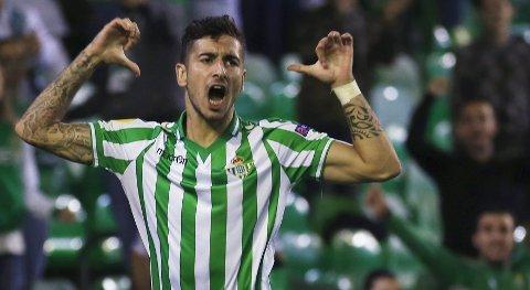 Real Betis og Alvaro Vadillo topper Segunda Division-tabellen, og de vil antakeligvis sikre direkte opprykk med seier i torsdagens bortekamp. Foto: Reuters