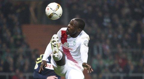 Den tidligere Lillestrøm-spissen Anthony Ujah er toppscorer hos Werder Bremen. Han kan lage trøbbel for Hoffenheim lørdag.