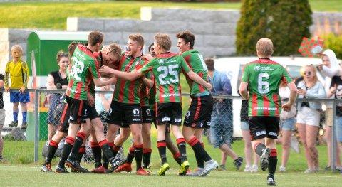FORTSETTER Å VINNE: Ørje vant mandag kveld 5-2 over Varteig og tok sin sjette strake seier i 6. divisjon.