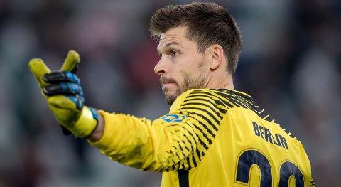 TILBAKE: Rune Almenning Jarstein er kampklar etter å ha mistet storkampen hjemme mot Bayern München.