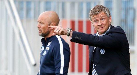 Ole Gunnar Solskjær og Molde må se at Mark Dempsey går til Start.