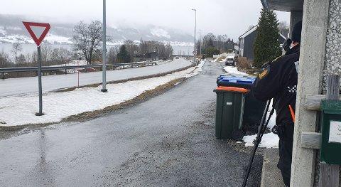 Nordmøringer tok romsdalinger i fartskontroll ... – Det var en del UX-skilt å se også, sier overbetjent Jan Arild Hanssen.