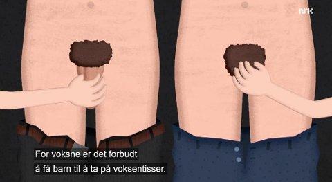 FOKUSER PÅ HANDLINGENE: – Vi voksne bør fokusere på handlingene som er ulovlig når vi forteller barn om overgrep, fordi barn føler så forskjellig i møte med en overgriper, sier regissør av «Kroppen min eier jeg», Marianne Müller.