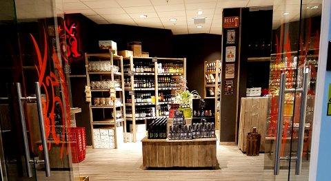 VIL INN I FARMANDSTREDET: Gulating-butikken i Slagenveien legges ned, men går det som kjedeledelsen vil åpner de snart butikk i kjøpesenteret vegg-i-vegg. Bildet er fra butikken i Bodø.